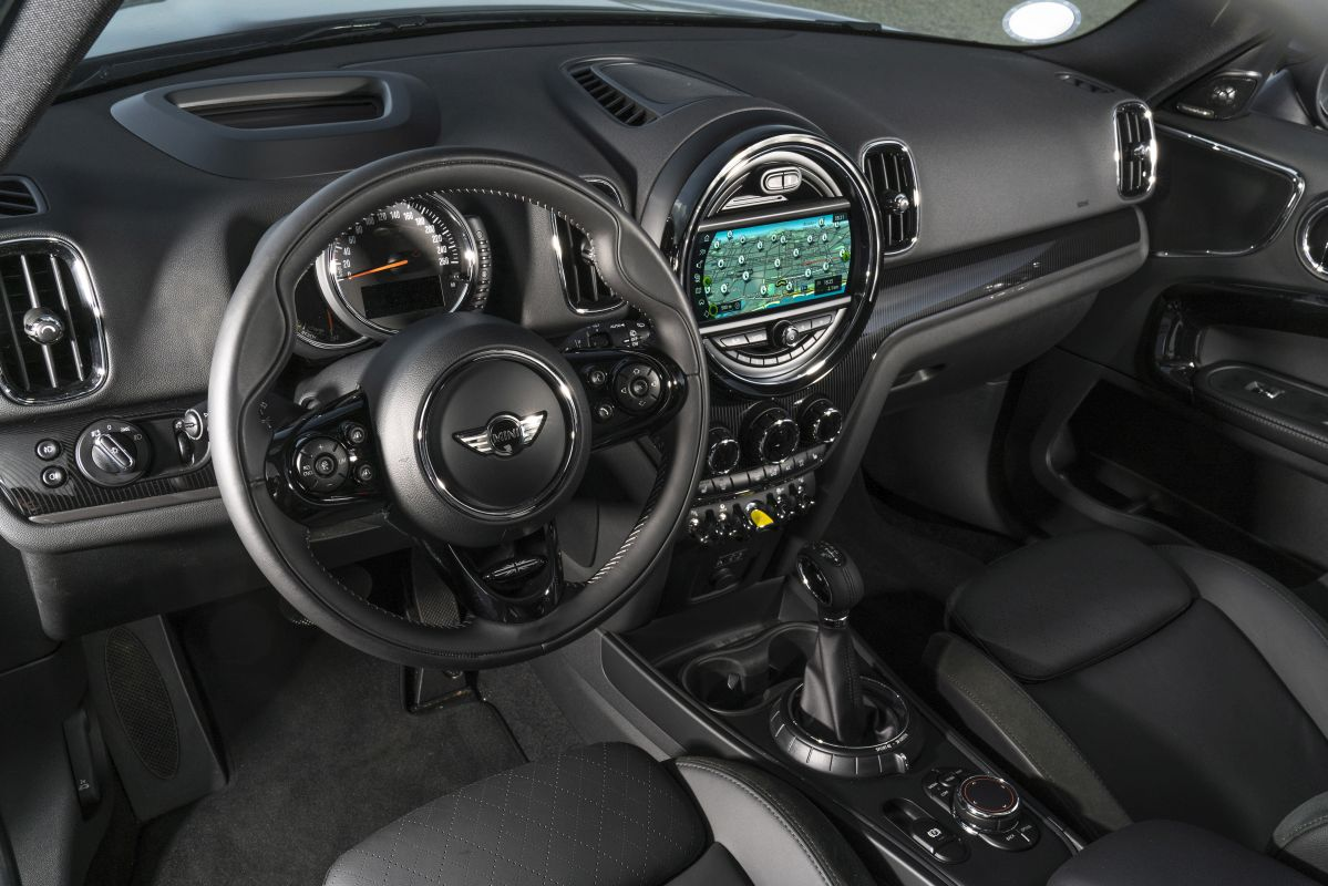 MINI Countryman Cooper S E ALL4 salpicadero