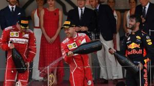 El doblete de Ferrari aumenta la ventaja de Vettel al frente del campeonato (fotos)