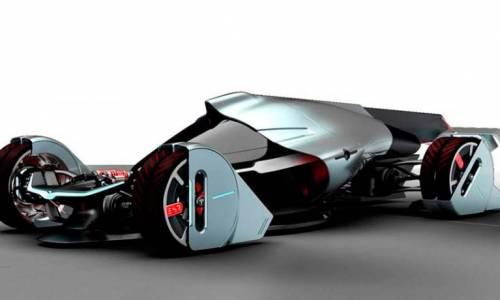 Tesla T1, el coche que se mueve por el viento