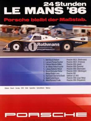 24h de Le Mans 1986