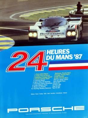 24h de Le Mans 1987