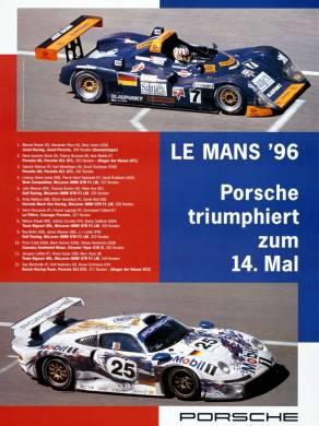 24h de Le Mans 1996