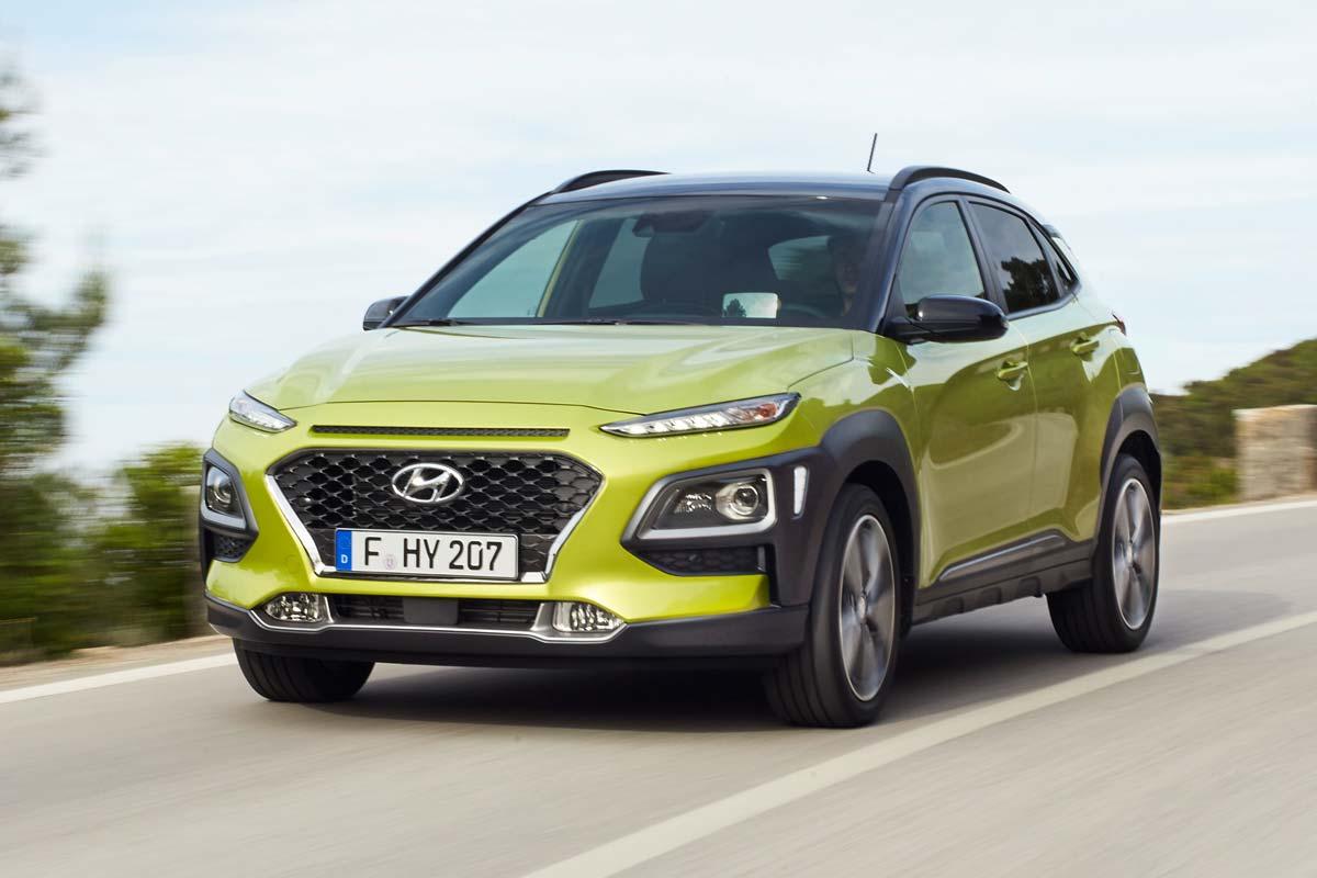 Hyundai Kona: imágenes y datos oficiales del SUV de Hyundai (fotos)