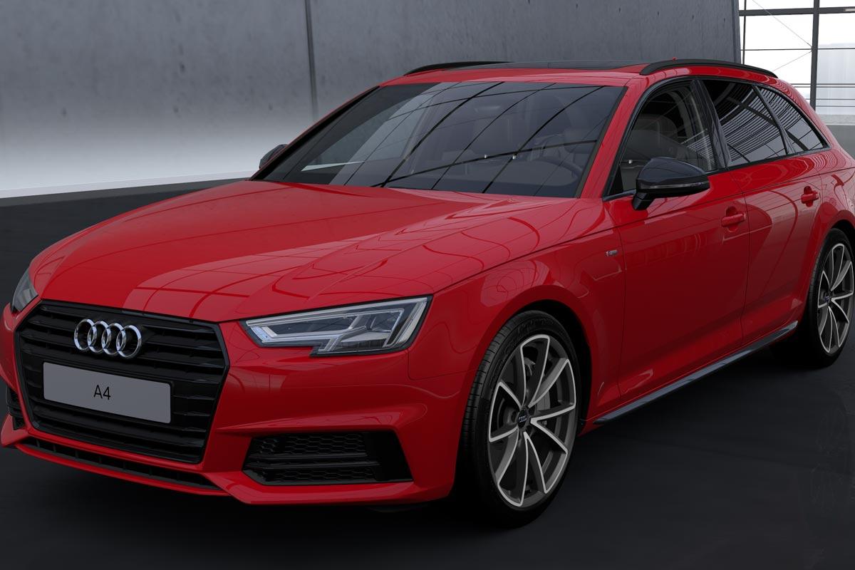 Audi A4 Avant Black Line Edition: una nueva edición ... Audi A4 2017 Black Edition Interior