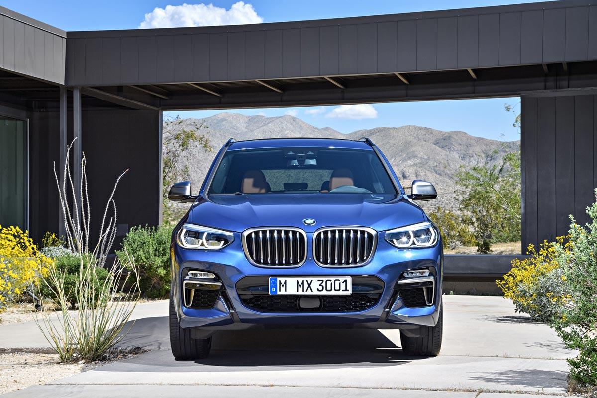 BMW X3 M40i 2018: el más potente con 360 CV (fotos)