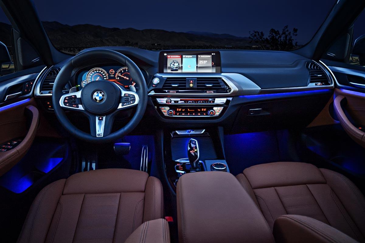 BMW X3 M40i interior