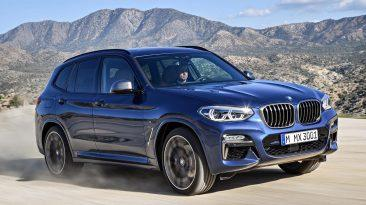 BMW X3 M40i delantera movimiento