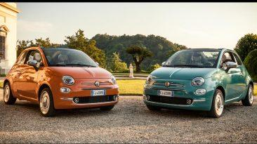 Fiat 500 Anniversario frontales