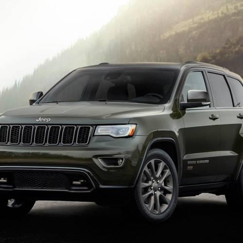 Jeep Grand Cherokee 75 aniversario: una nueva edición muy especial