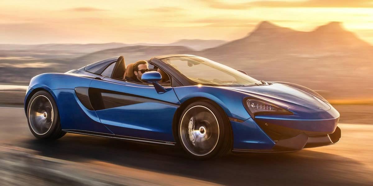 McLaren 570S Spider: descapotable, pero con las mismas prestaciones