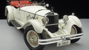 Mercedes-Benz Model S: 90 años de la victoria inaugural de Nürburgring (fotos)