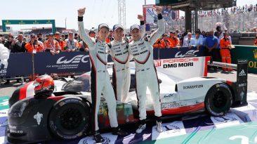 Campeones 24 Horas de Le Mans 2017