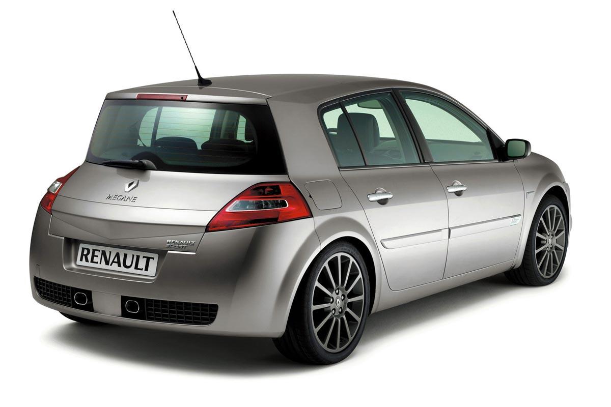 Renault Megane Renault Sport trasera