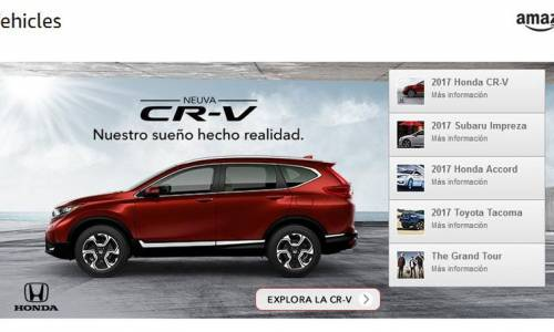Amazon venderá coches en Europa por Internet