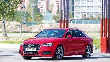 Audi A3 Sedán 2.0 TDI 150 CV tres cuartos delantero