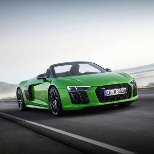 Audi R8 Spyder V10 plus, poderío a cielo descubierto