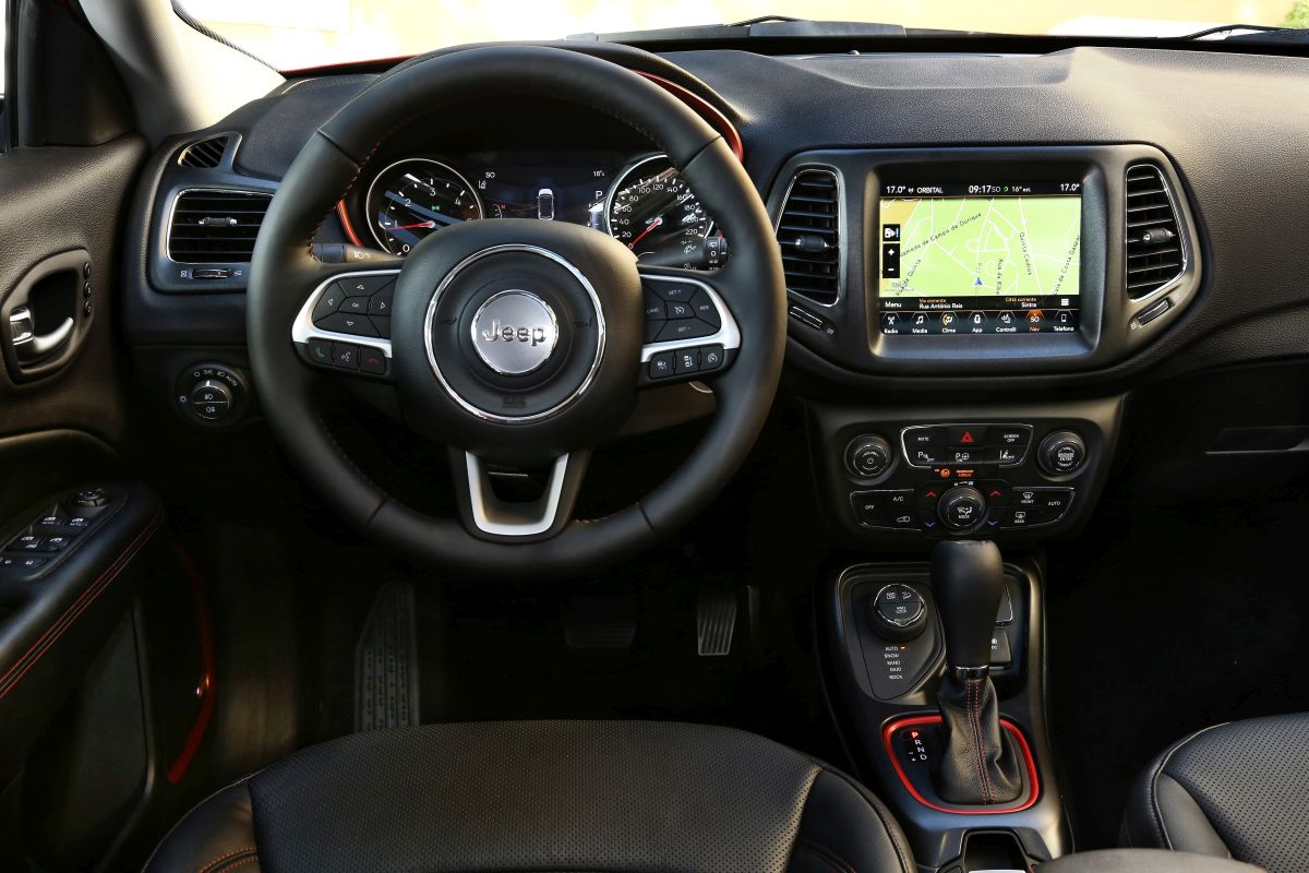 Jeep Compass 2017 salpicadero