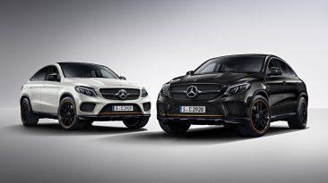 Mercedes GLE Coupe OrangeArt Edition los dos juntos