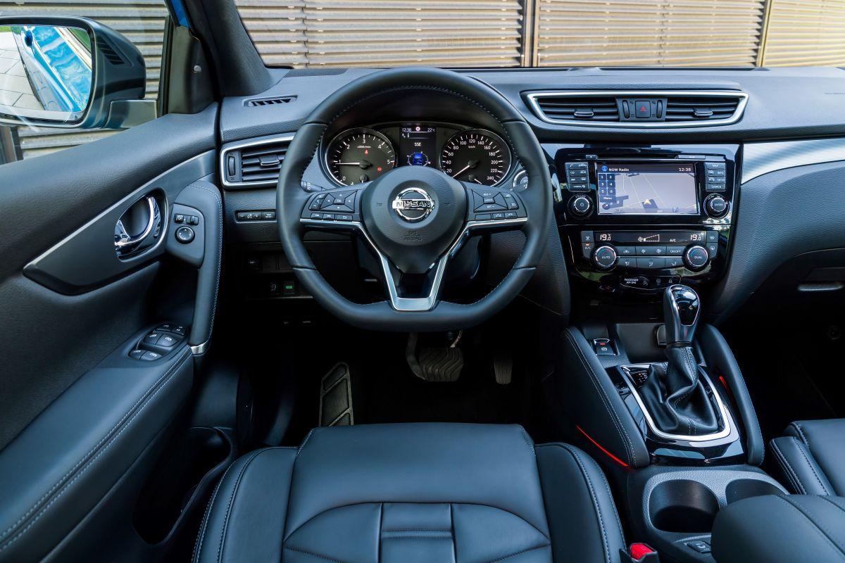Nissan Qashqai 2017 salpicadero