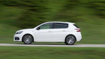Peugeot 308 2017 barrido blanco
