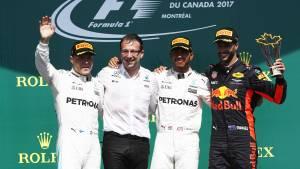 Hamilton conquista sin despeinarse el Gran Premio de Canadá (fotos)