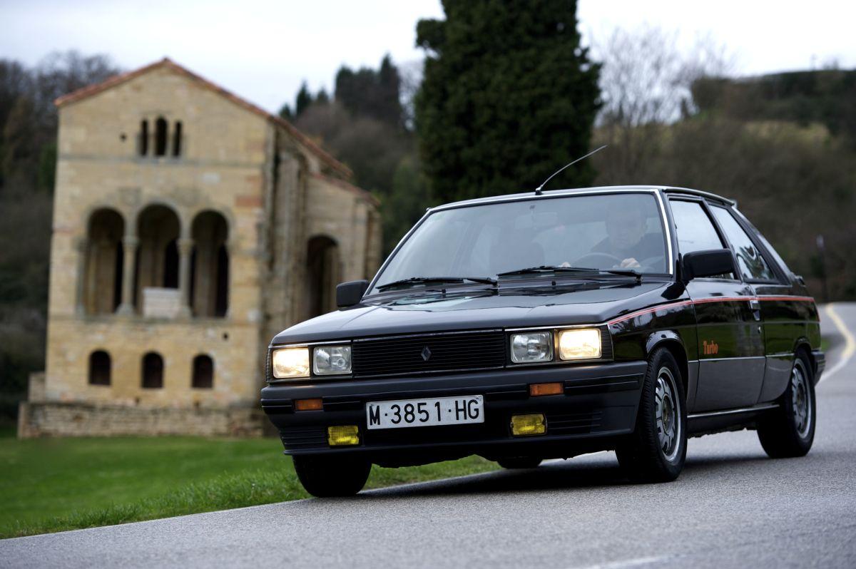 Renault 11 Turbo frontal