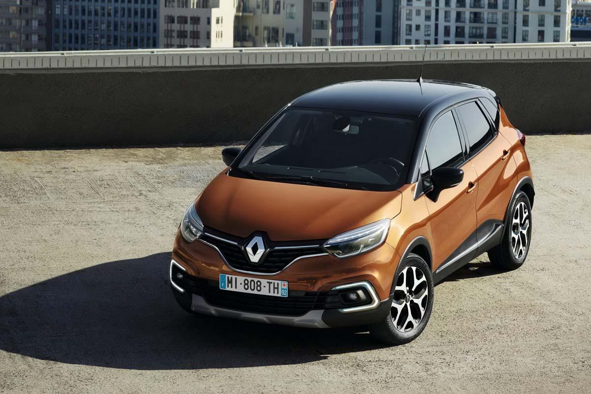 Renault Captur frontal