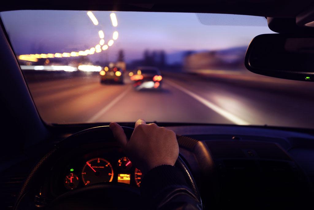 conducir noche