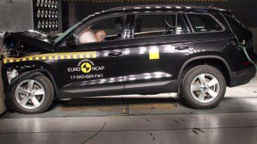 Skoda Kodiaq crash test
