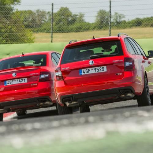 Skoda Octavia RS 245, primera prueba