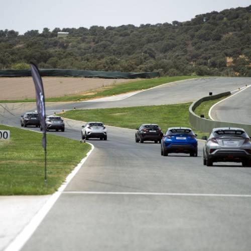 24H Híbridas Toyota C-HR, un Le Mans a escala