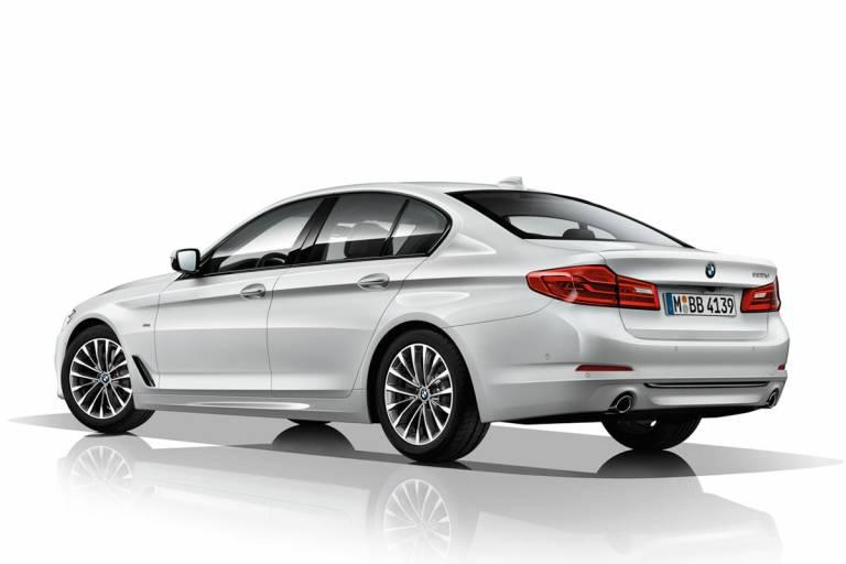BMW 520d trasera
