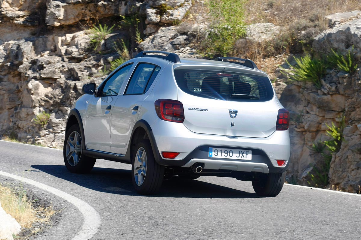 dacia sandero stepway dci 90 prueba realdacia sandero. Black Bedroom Furniture Sets. Home Design Ideas