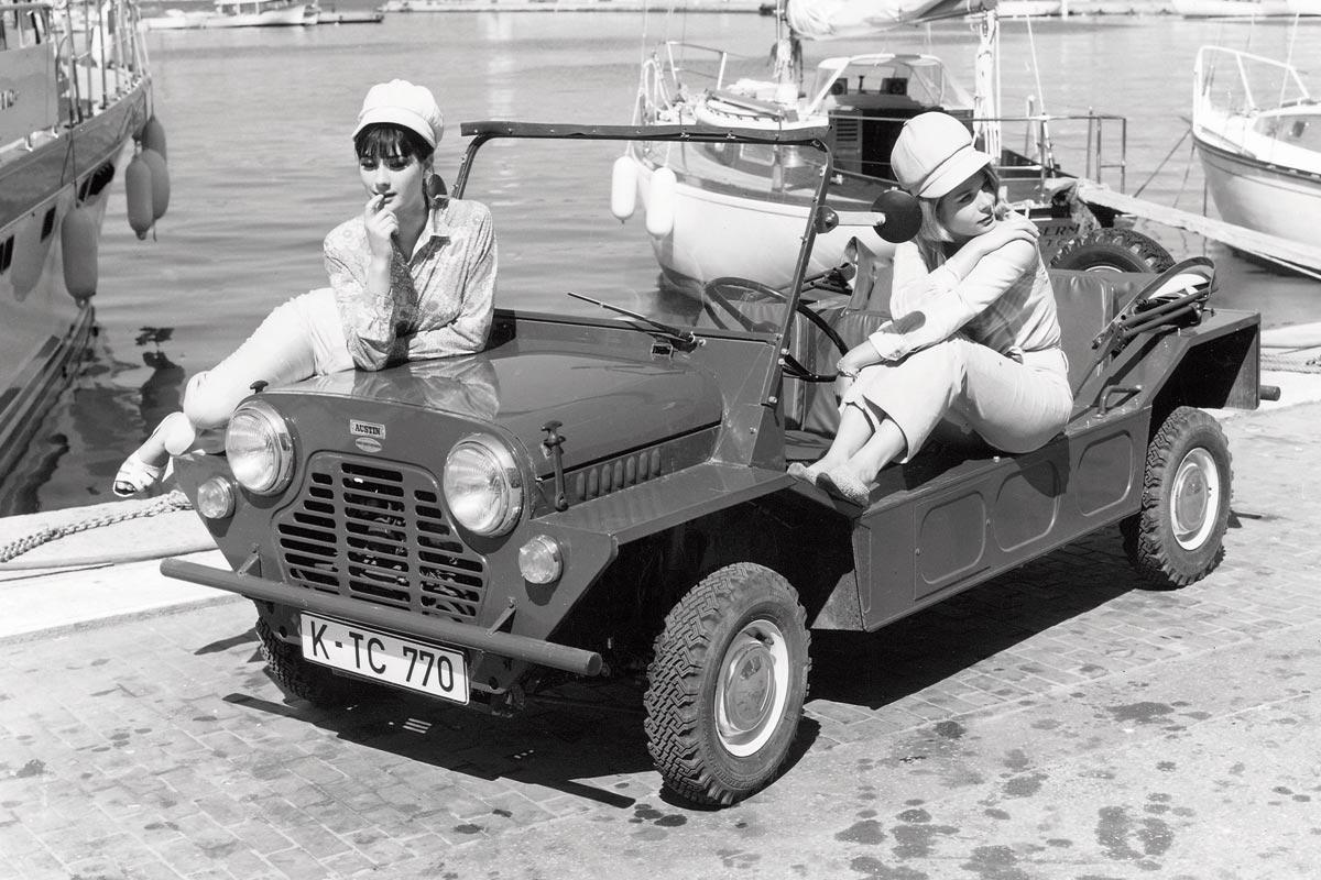 Austin Mini Moke mejores coches playa