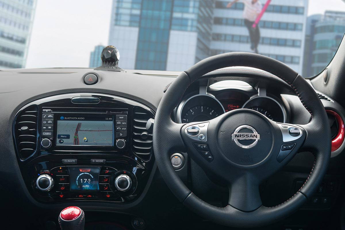 Nissan Juke camara JukeCam