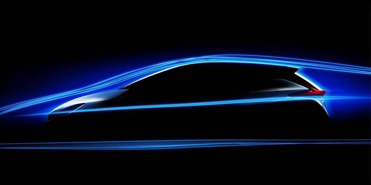 Nissan LEAF 2018: primeras imágenes de la próxima generación
