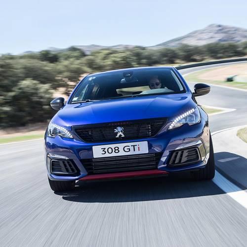 Peugeot 308 GTi 2017, primera prueba en circuito