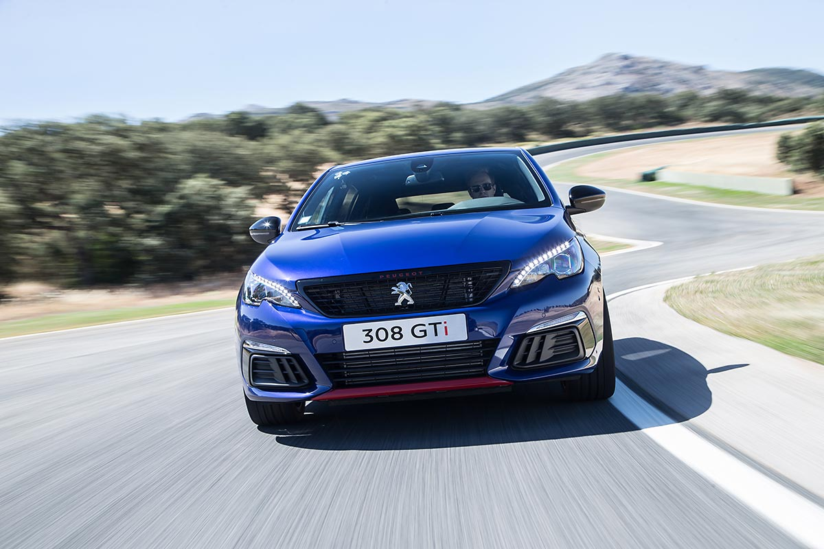 peugeot 308 gti 2017 primera prueba en circuito cosas de coches. Black Bedroom Furniture Sets. Home Design Ideas