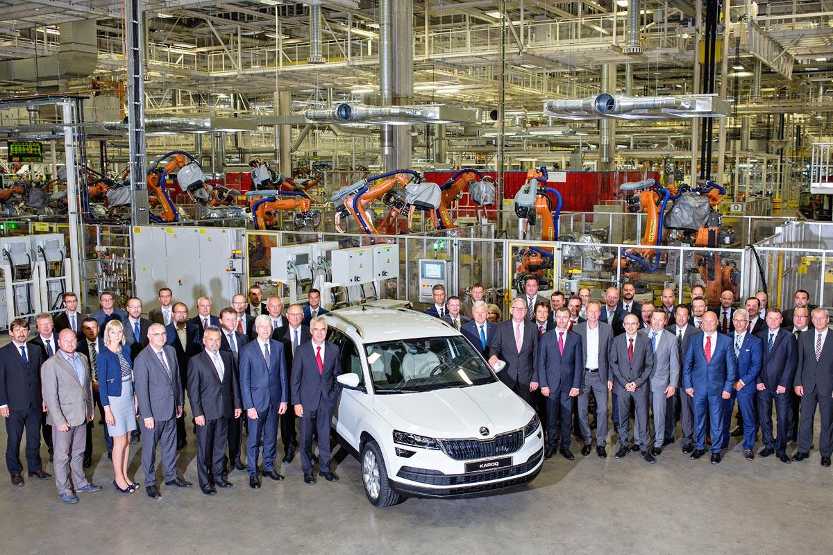 Škoda Karoq: comienza a producirse en República Checa - Cosas de ...