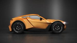 Zarooq SandRacer 500 GT: el superdeportivo del desierto (fotos)