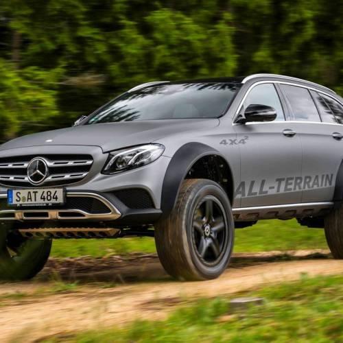 Mercedes-Benz Allterrain 4×4², tuning campero