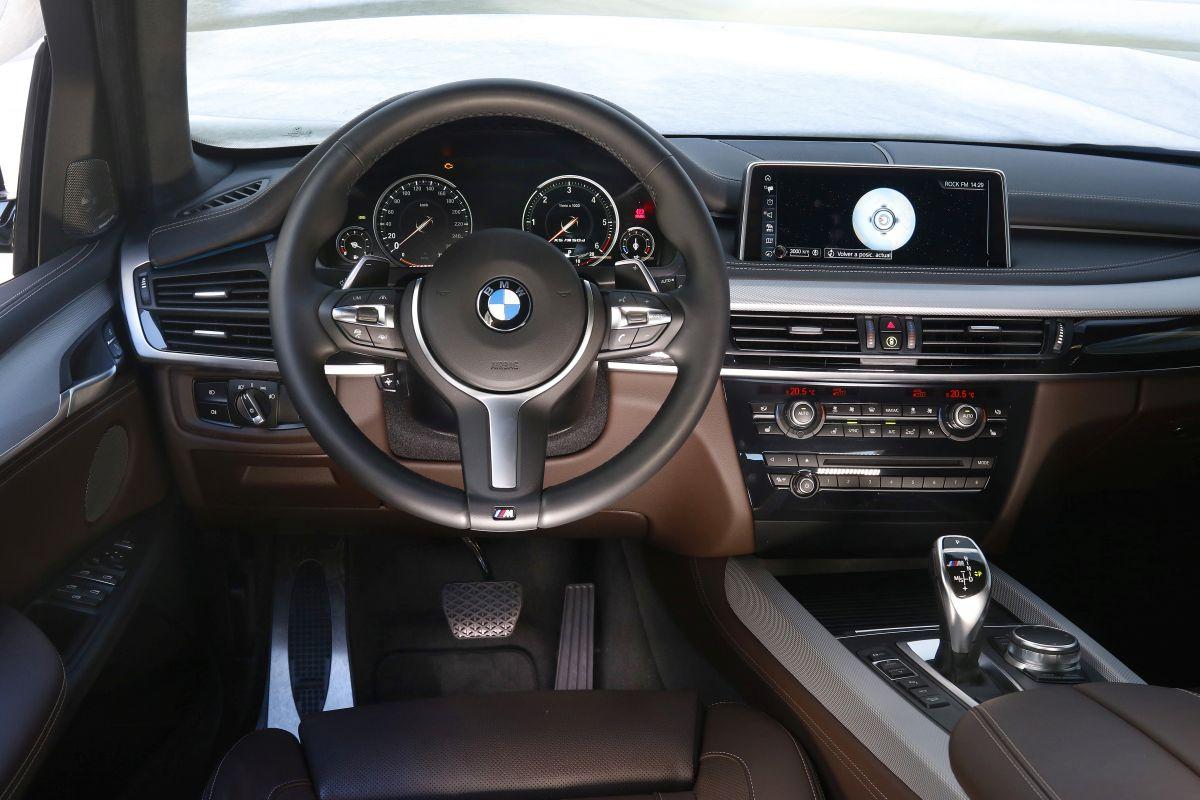 BMW X5 30D: salpicadero