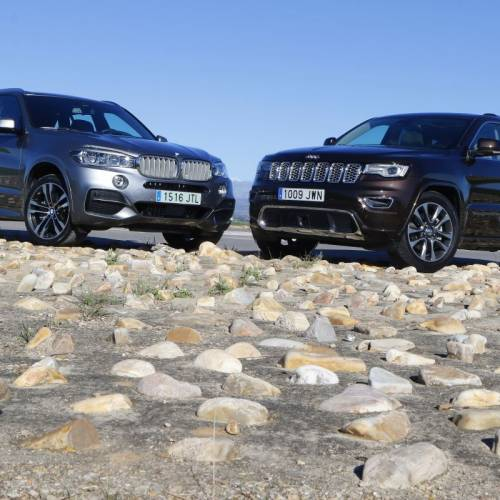 BMW X5 30D o Jeep Grand Cherokee 3.0 V6 D: comparativa