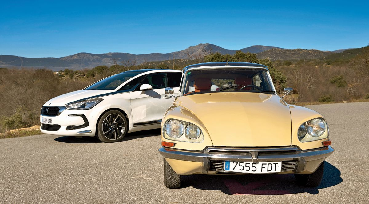 Citroën D Super 1974 vs DS 5 Hybrid: comparativa (fotos)