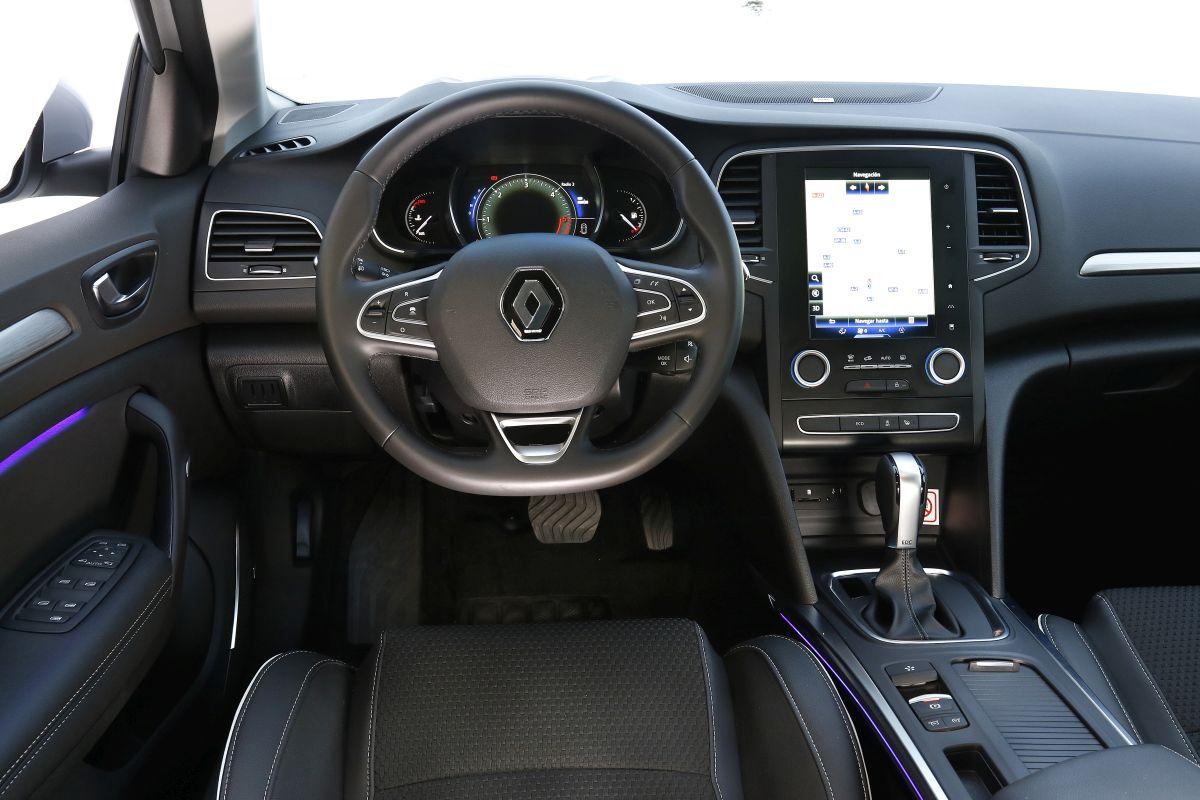 Renault Mégane 1.5 dCi 110 CV salpicadero