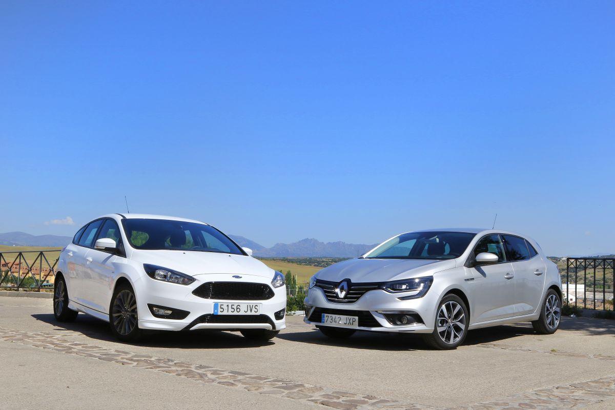 Ford Focus 1.5 TDCi 120 CV o Renault Mégane 1.5 dCi 110 CV: comparativa