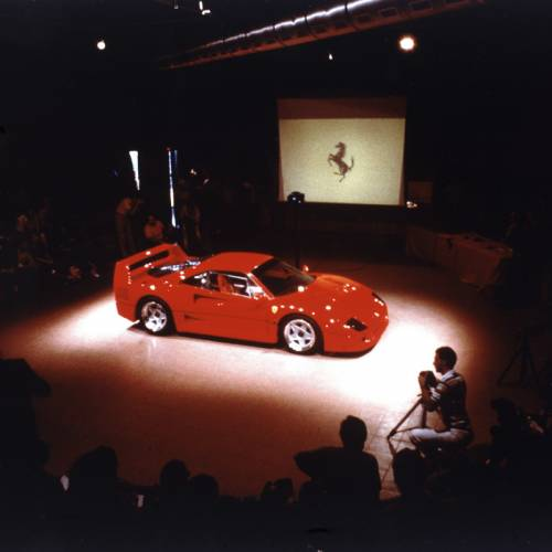 El Ferrari F40 cumple 30 años