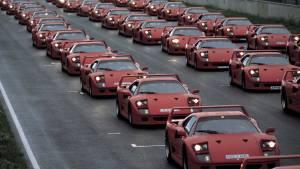 El Ferrari F40 cumple 30 años (fotos)