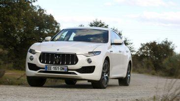 Maserati Levante Diesel frontal