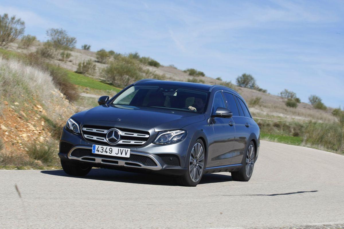 Mercedes-Benz E 220D All-Terrain, a prueba (fotos)